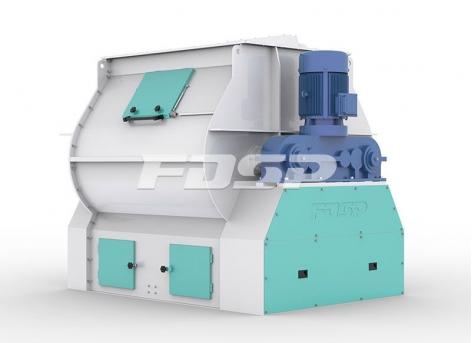 Equipo de fábrica de piensos Mezclador de alta eficiencia de doble eje serie SHSJz