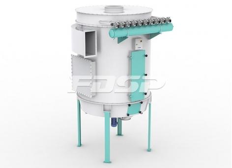 Colector de polvo de pulso cilíndrico de fondo plano serie TBLMD
