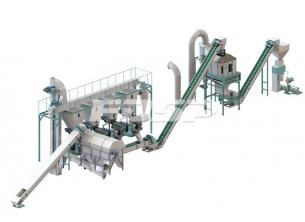 4-6 toneladas de línea de producción de