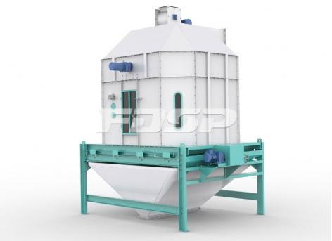 Equipo de enfriamiento de alimentación enfriador de contraflujo de la serie SKLN