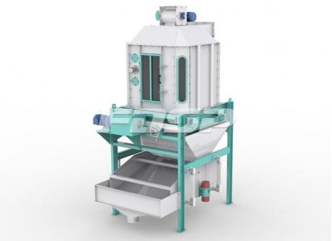 Criba de refrigeración a contracorriente SNSZ120 para equipos de cribado de refrigeración de fábricas de piensos