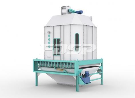 Equipo de enfriamiento de pellets de alimentación Enfriador de péndulo de la serie SKLB