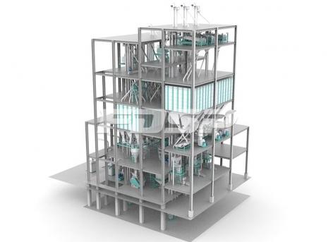 Línea de producción de alimento para peces ordinaria SZLH420 (20 toneladas por hora) de tres líneas