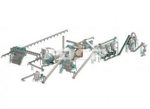 6-7 toneladas / hora línea de producció