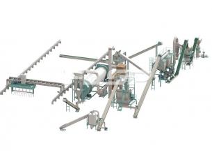 Línea de producción de granulación de