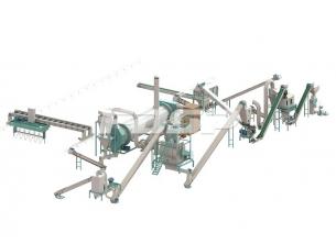 Línea de producción de 2-3 toneladas /