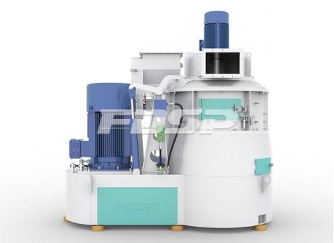 Micro-pulverizador de alimentación serie SWFL tipo micro-pulverizador de eje vertical