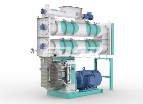 Equipo de procesamiento de alimentos granuladora de alimentos para acuicultura ordinaria serie SZLH420b2