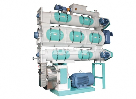 Maquinaria de alimentación SZLH420b2 + garantía de calidad Máquina granuladora de alimentos acuáticos de alta calidad