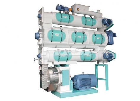 Maquinaria de alimentación serie SZLH508b3 de máquina de pellets de alimentación acuícola de alta gama