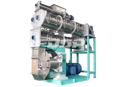Maquinaria de alimentación SZLH768DDC + a1 peletizadora de alimentación de alta gama