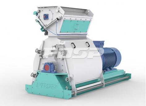 Trituradora ancha tipo gota de agua serie SFSP668 de maquinaria de alimentación