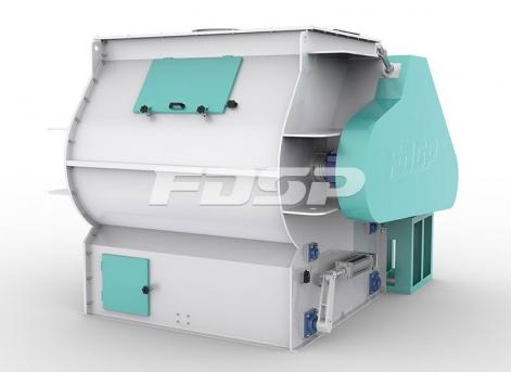 Mezcla de material de alimentación Mezclador de alta eficiencia de doble eje de la serie SHSJ