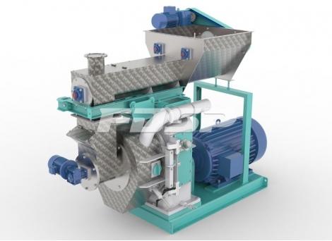 Granulador de biomasa serie MZLH420